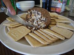 Chocolate Chip Cream Cheese Ball