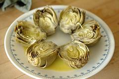 Artichokes in the Pressure Cooker
