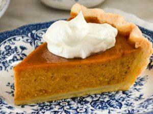 Pumpkin Honey Pie