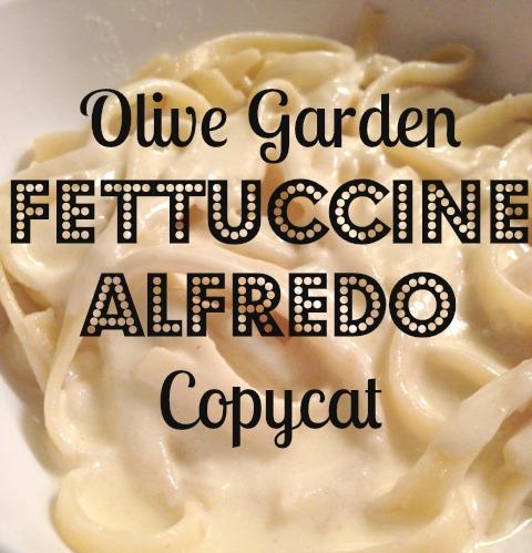 olive garden alfredo copycat recipe - Olive Garden Fettuccine Alfredo Recipe