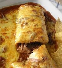 Chile Colorado Burritos
