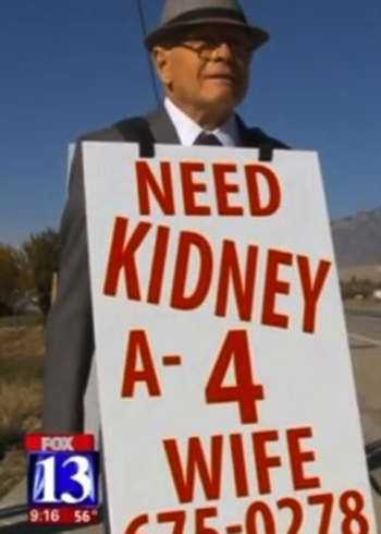 The Man Who Walked Miles Each Day For His Wife's Kidney Transplant