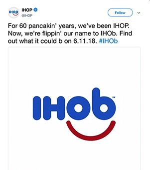 Will IHOP's Name Change to I…