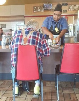 Waffle House Server is Surpr…