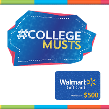 Enter the @SheSpeaksUp and @Walmart #CollegeMusts Giveaway!
