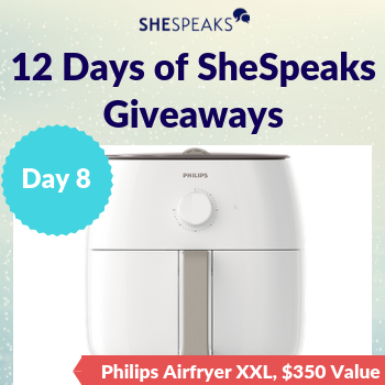 12 Days of SheSpeaks, Day 8:…