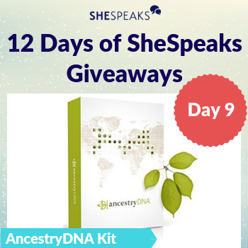 12 Days of SheSpeaks, Day 9:…