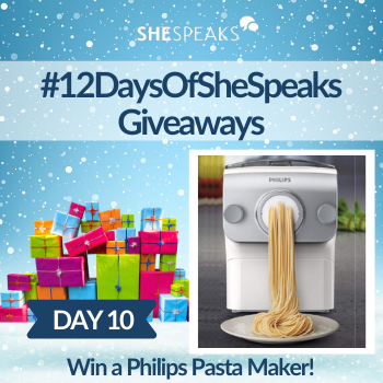 12 Days of SheSpeaks, Day 10: Win a Philips…