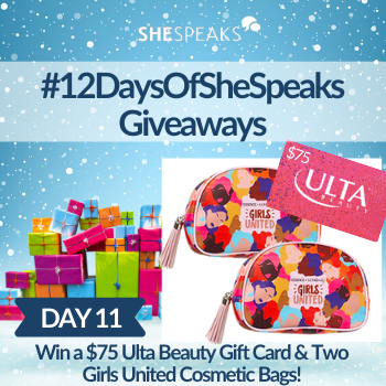 12 Days of SheSpeaks, Day 11: Win a $75 Ult…