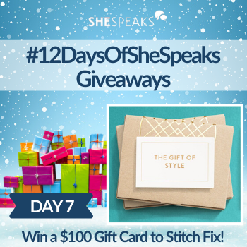 12 Days of SheSpeaks, Day 7: Win a $100 Stitch Fix Gift Card!