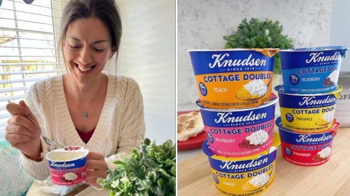 Meet Knudsen Cottage Doubles - Our New Favorite Snack!