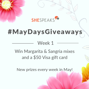 #MayDaysGiveaways: A Toast to Our Members! Enter to Win Drink Mixes & a $50 Visa Gift Card!