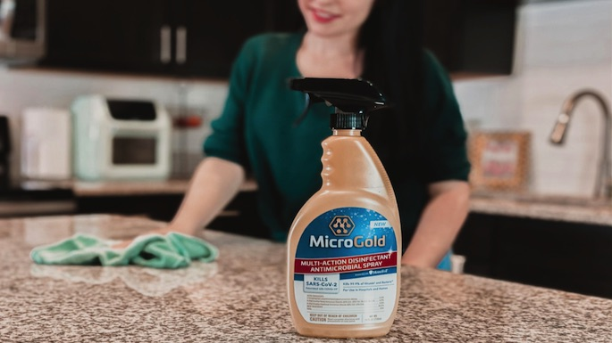 Get Rid of Germs & Enter the #MicroGoldMultiAction Giveaway