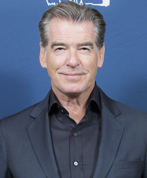 A Lady Bond? Pierce Brosnan …