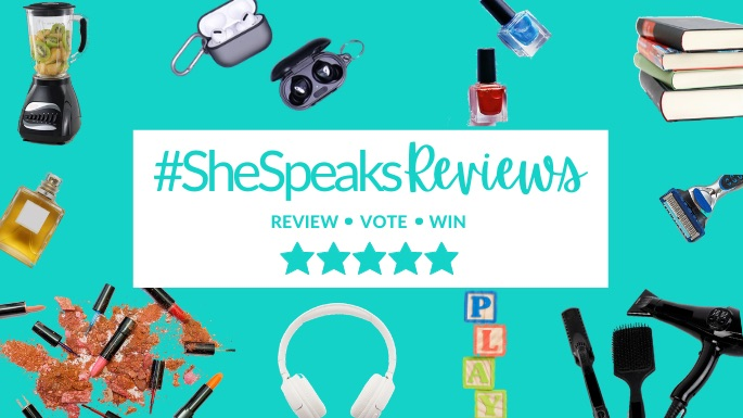 Help Us Get Ready for Holiday Shopping & Win with #SheSpeaksReviews