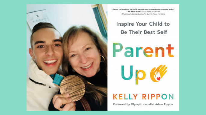 Win a Copy of Parent Up by Kelly Rippon, Mom of Olympic Champion