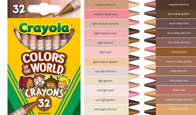 Crayola Is All About Being I…