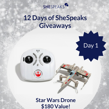 12 Days of SheSpeaks Day 1:…
