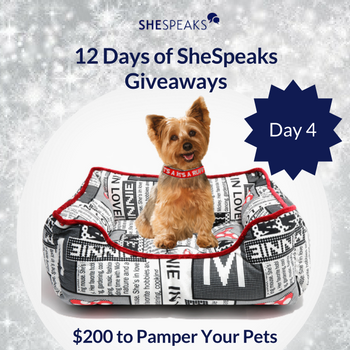 12 Days of SheSpeaks Day 4: …