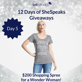 12 Days of SheSpeaks Day 5: …