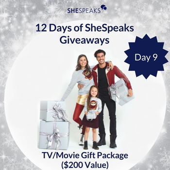 12 Days of SheSpeaks Day 9: Win a TV/Movie Gift Package! #thankFULL