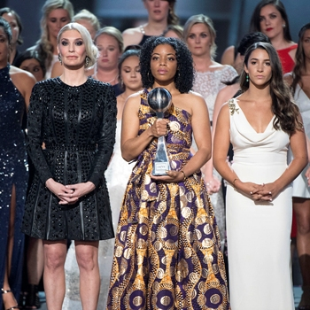 'Sister survivors' of Larry Nassar's sexual abuse receive ESPY's Arthur Ashe Courage Award