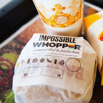 Is a Meatless Whopper Still …