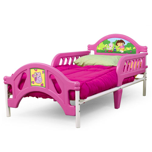 Delta Dora the Explorer Toddler Bed
