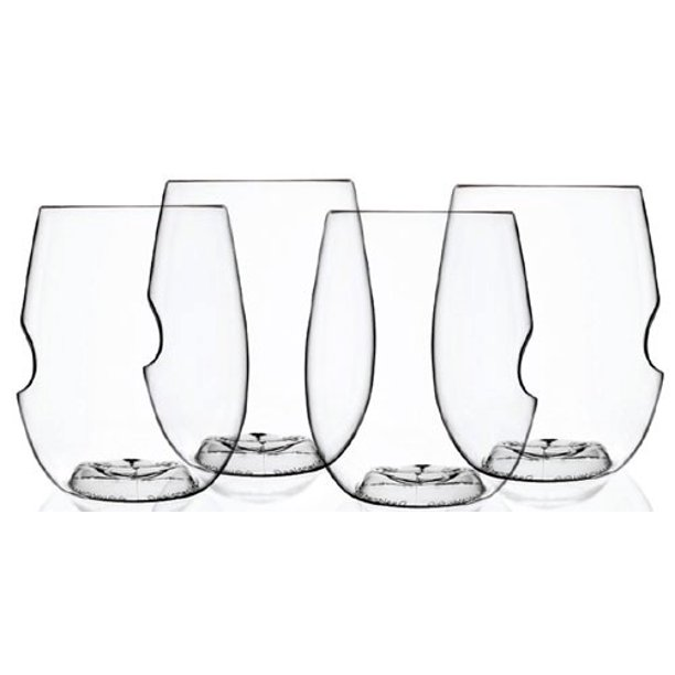 GoVino Go Anywhere Wine/Cocktail Glasses