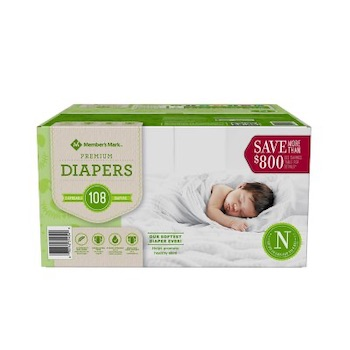 Member's Mark Diapers
