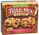 Nature Valley  Chewy Trail Mix Cranberry & Pomegranate