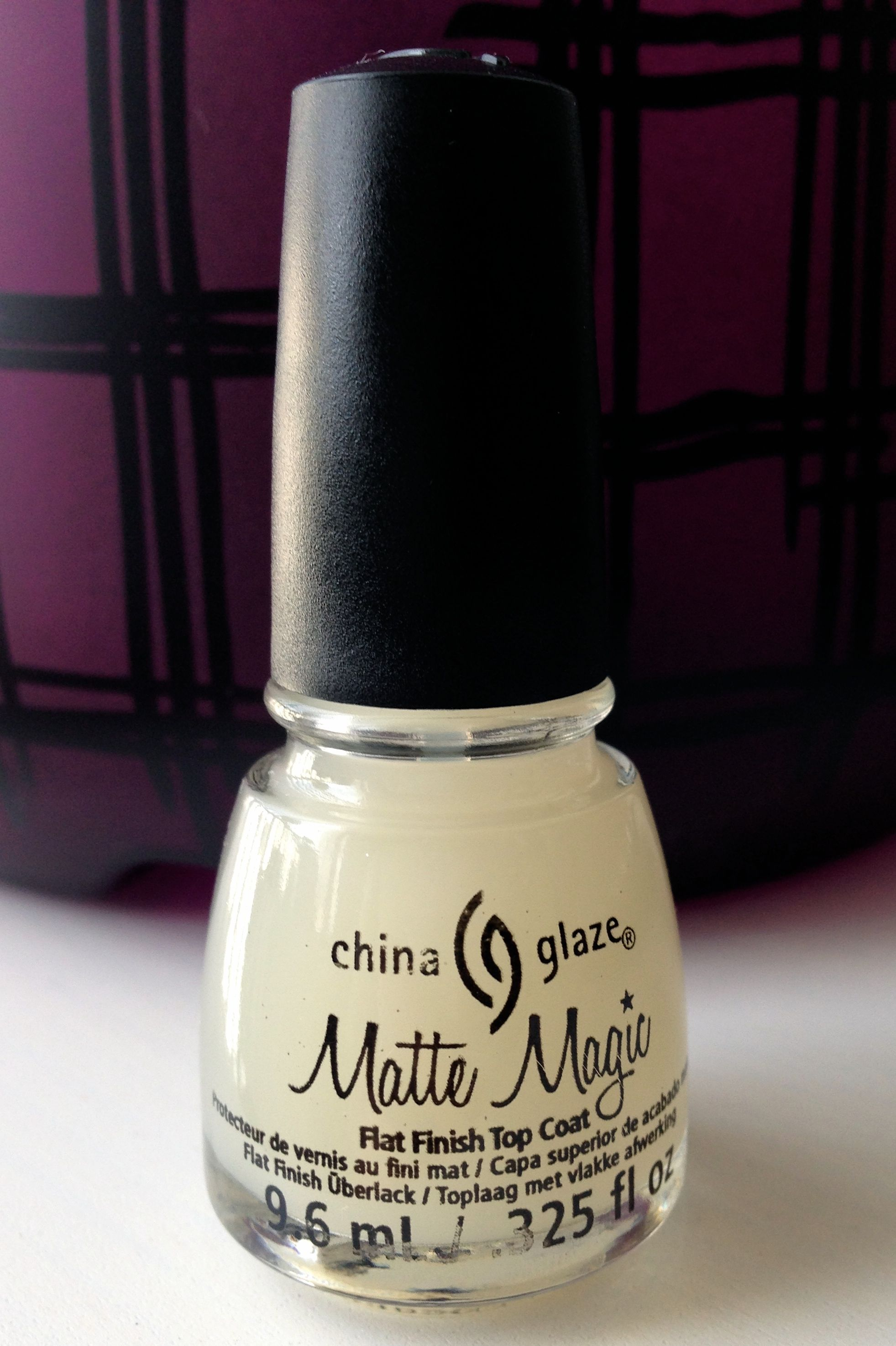 China Glaze Matte Magic …