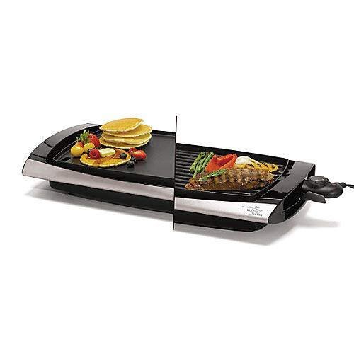 Wolfgang Puck Indoor Reversible Grill Griddle