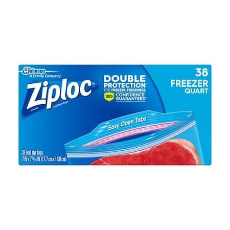 Ziploc Freezer Bags Quart