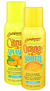 California Scents Citrus Splash Air Freshener