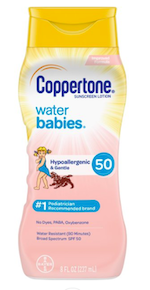 Water Babies Sunscreen