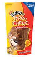 Dingo Mini Jerky Chicken Chew Chips