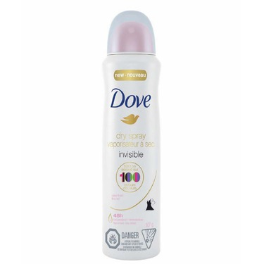 Dove Invisible Clear Fin…