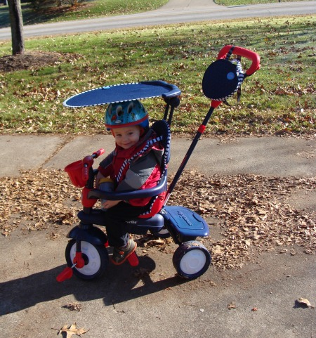 Smart-Trike  4-in-1 Spirit Tricycle