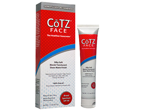 CoTZ Face Natural Skin T…