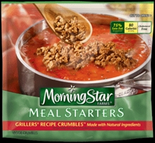 Morningstar Farms Meal Starters Grillers Recipe Crumbles