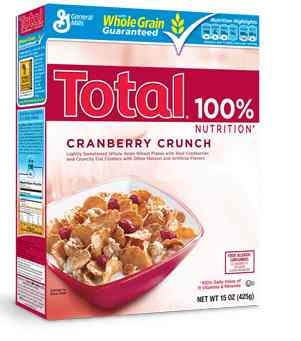 Total  Cranberry Crunch …